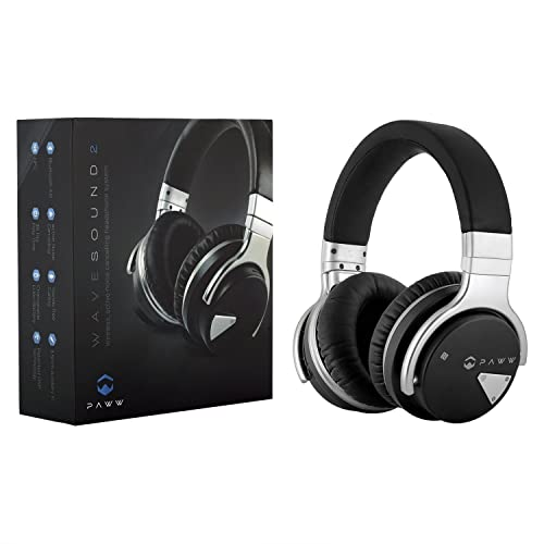 b876e3e0972 Paww Over Ear Headphones - Paww WaveSound 2 - Active Noise Cancelling  Bluetooth Headphones with Custom