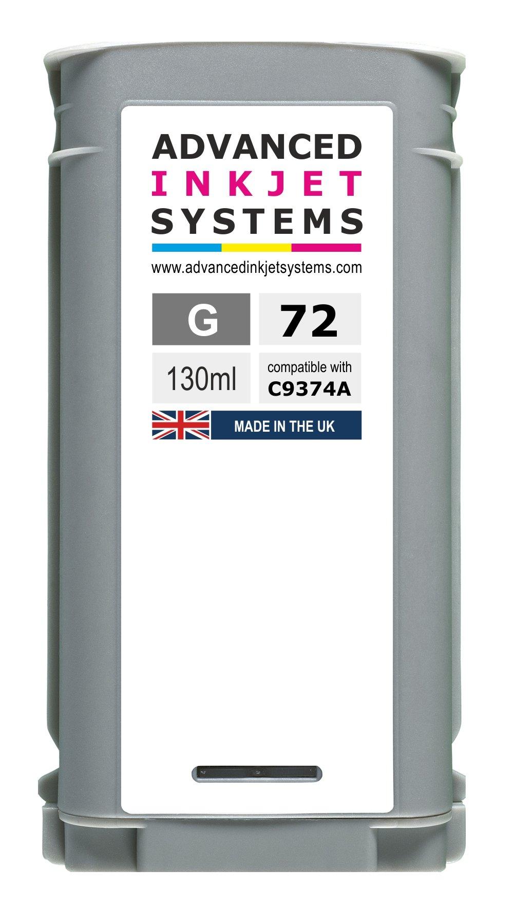 Compatible 72 130 ml cartuchos de tinta para HP DesignJet T610 ...