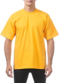 Pro Club Men's Heavyweight Cotton Short Sleeve Crew Neck T-Shirt