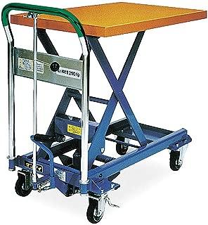 Scissor Lift Cart, 550 lb., Steel, Fixed