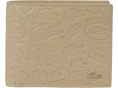 Lacoste FG Small Billfold (Reserved Flex Color Name) Bags