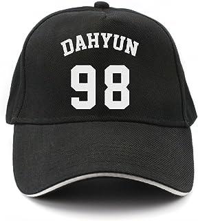 Fanstown KPOP 韓流 TWICE シンプルな黒いキャンバスロゴマークの野球帽、キャップ...
