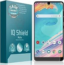 IQ Shield Matte Screen Protector Compatible with Essential Phone (PH-1)(Case Friendly)(1-Pack) Anti-Glare Anti-Bubble Film