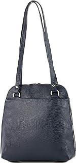 modamoda de - T217 - ital. Damen Rucksack Daypack aus Leder