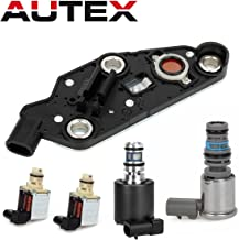 AUTEX 4T65E Automatic Transmission Master Shift EPC TCC & PWM Downshift Solenoid Manifold Pressure Switch 10478124 19138850 24219819 Compatible With GM & Buick & Chevrolet & Pontiac 2003-UP