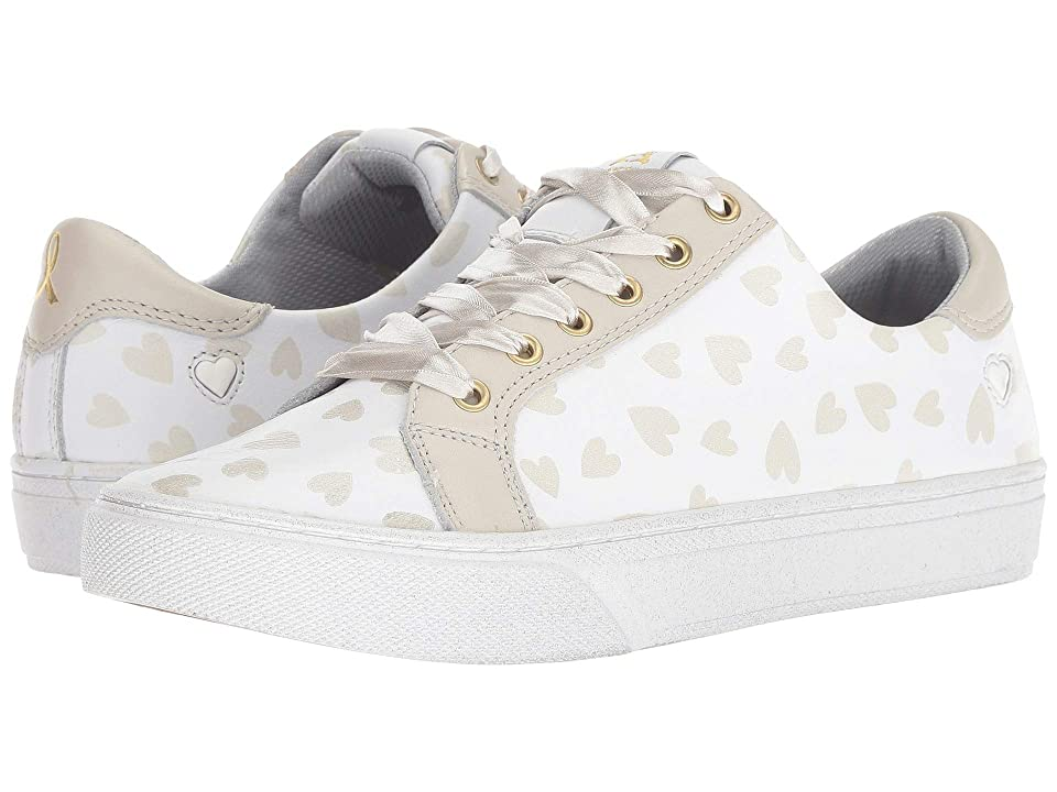 Nurse Mates Limited Edition 2018 Childhood Cancer Campaign Lace-Up (White/Hearts) Women