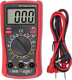 Multímetro eletrônico, multímetro digital LCD de resistência à tensão, testador elétrico, testador de voltagem de variação...