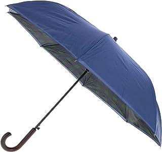 ShedRain Plaid Print Reversible Stick Umbrella