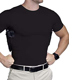 Concealed Carry Shirt for Men/CCW Tactical Clothing/Gun Holster Shirt