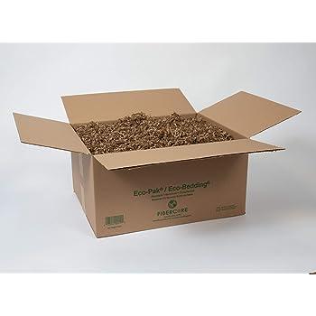 ECO BEDDING FiberCore Box, 10 lbs, Brown