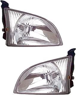 Best 2001 toyota sienna headlight assembly Reviews