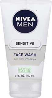 NIVEA Men Sensitive Face Wash 5 Fluid Ounce