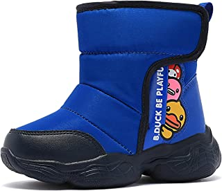 Winter Snow Boots Girl Boy Unisex shoes Mid Calf Warm Boots Lace Up Outdoor