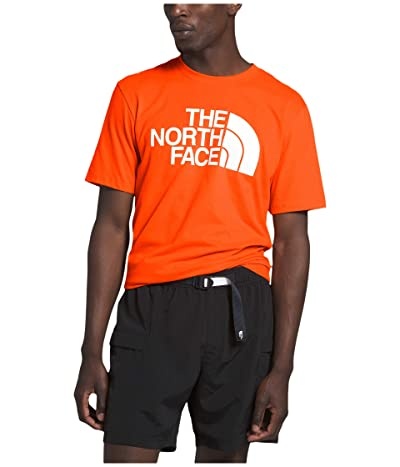 The North Face Short Sleeve Half Dome T-Shirt (Persian Orange) Men