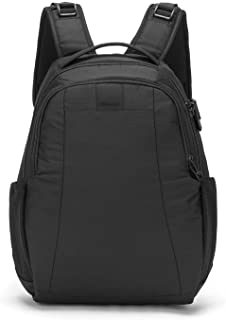 Metrosafe LS350 Anti-Theft 15L Backpack Mochila Tipo Casual, 42 cm, 15 Liters, Negro (Black 100)