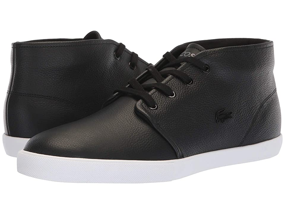 Lacoste Asparta 318 1 P (Black/White) Men