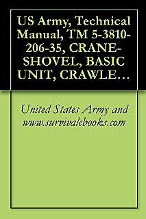 US Army, Technical Manual, TM 5-3810-206-35, CRANE-SHOVEL, BASIC UNIT, CRAWLER MTD, 40-TON, 2 CU YD, DIESEL DRIVEN (W/HARNISCHFEGER ENGINE MODEL 687C-18-ES) ... (HARNISCHFEGER MODEL 855BG) (NSN 3810-00-6