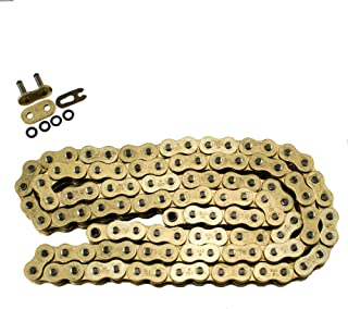 530 Pitch Gold O-Ring Chain 130 Links Custom Extended Swingarm Motorcycles Bikes