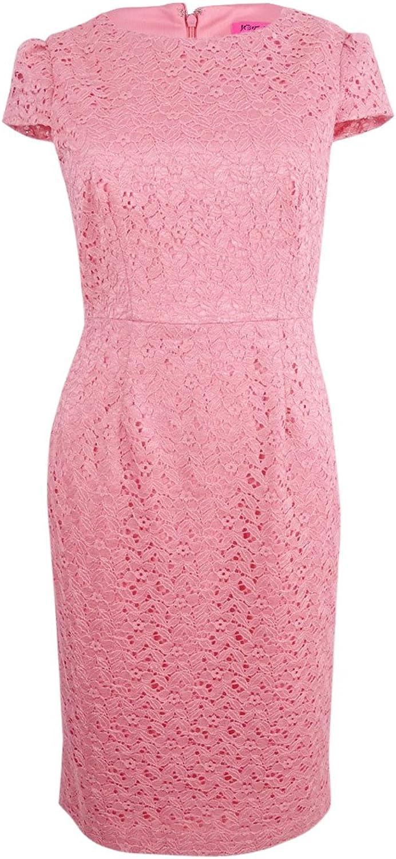 Betsey Johnson Womens Lace Sheath Dress Dress