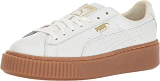 PUMA Women's Basket Platform Core Fashion Sneaker