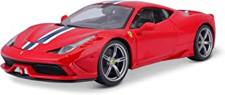Bburago 1:18 Scale Ferrari Race and Play 458 Speciale Diecast Vehicle (Colors May Vary)