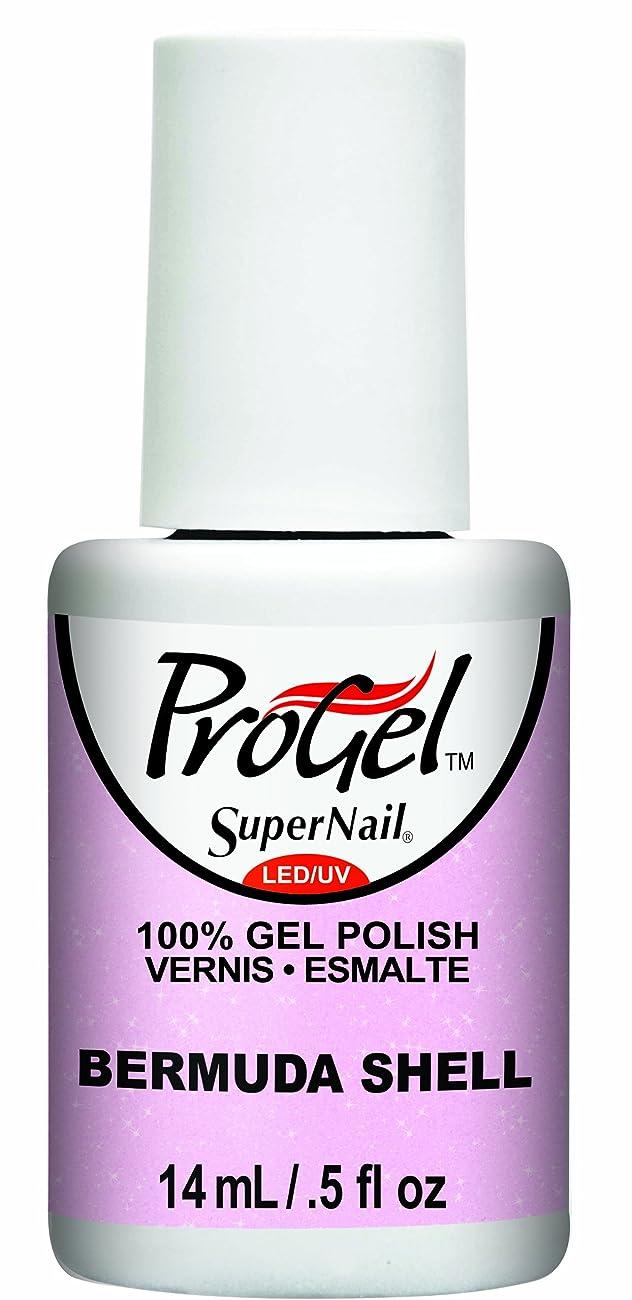 ストラトフォードオンエイボン自宅でホバーSuperNail ProGel Gel Polish - Bermuda Shell - 0.5oz / 14ml