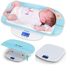 Dr Trust USA Digital Baby Weighing Scale Grow Buddy Infant, Toddler and Adult Body Weight Machine Upto 150kg with Baby Tra...