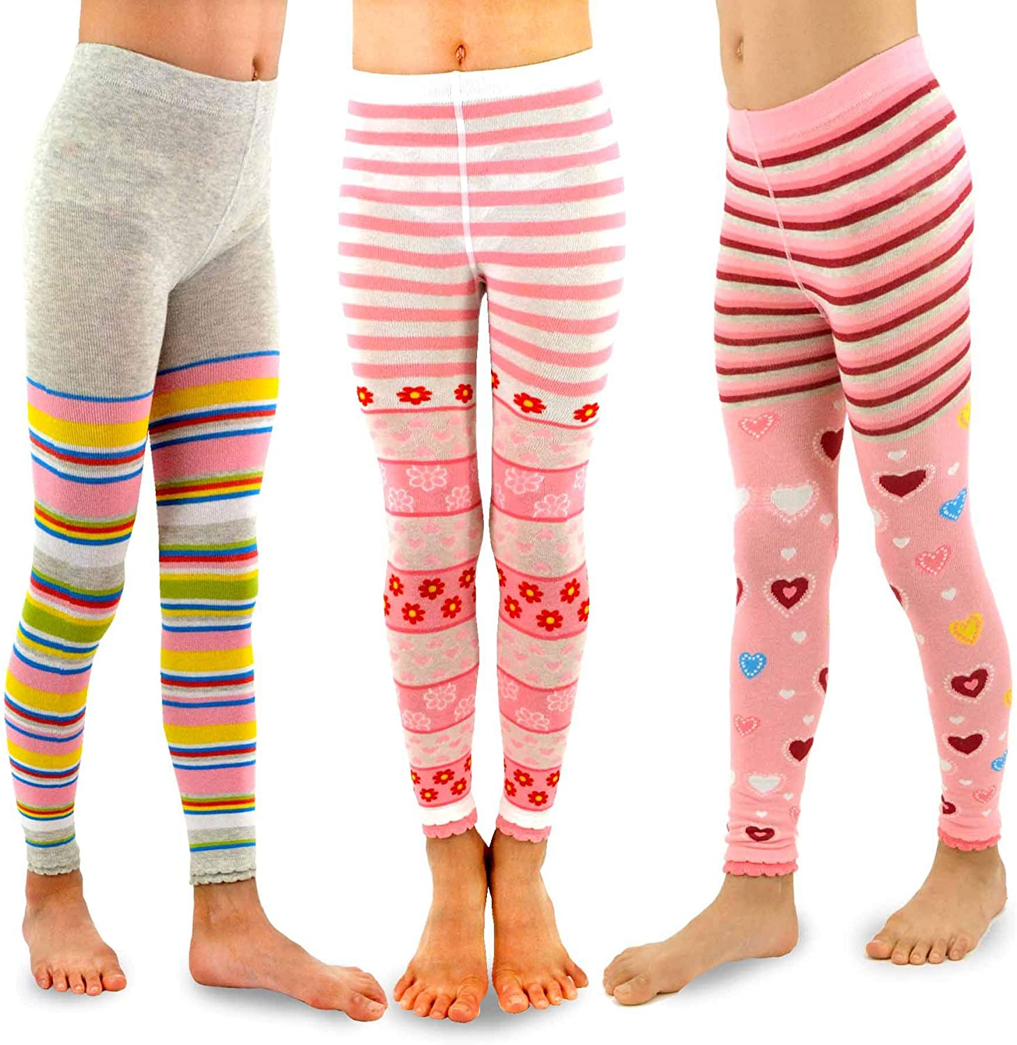 TeeHee Little Girls and Toddlers 3 Spring new work one after another Casual OFFicial site School Fashion Tights