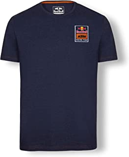 Red Bull KTM Mosaic T Shirt, Blue Mens Tshirt, KTM Factory Racing Original Clothing & Merchandise