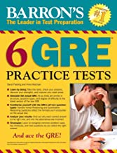 Barron's 6 GRE Practice Tests, 2nd Edition