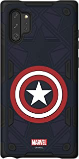 haainc Samsung Galaxy Friends Captain America Rugged Protective Smart Cover for Note 10+