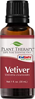 Plant Therapy Vetiver Essential Oil | 100% Pure, Undiluted, Natural Aromatherapy, Therapeutic Grade | 30 milliliter (1 ounce)