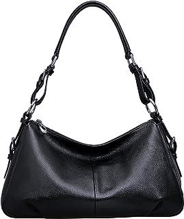 Heshe Womens Leather Handbags Vintage Shoulder Bags Top Handle Crossbody Bag Satchel Handbag and Purses for Ladies