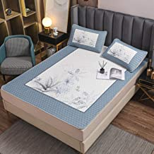 Summer sleeping mat digital printing large version latex summer mat 0.6cm thickening summer air conditioning cool feeling ...