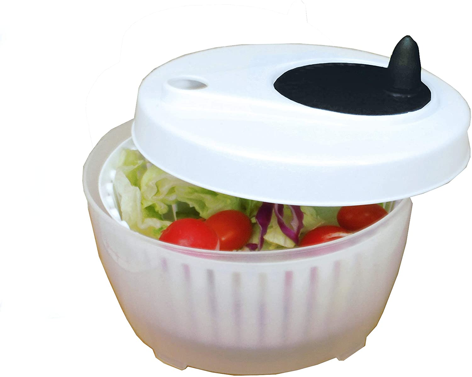 ExcelSteel Functional Fruits Max 49% OFF Vegetables Salad Large special price !! Spinner Mini 1.