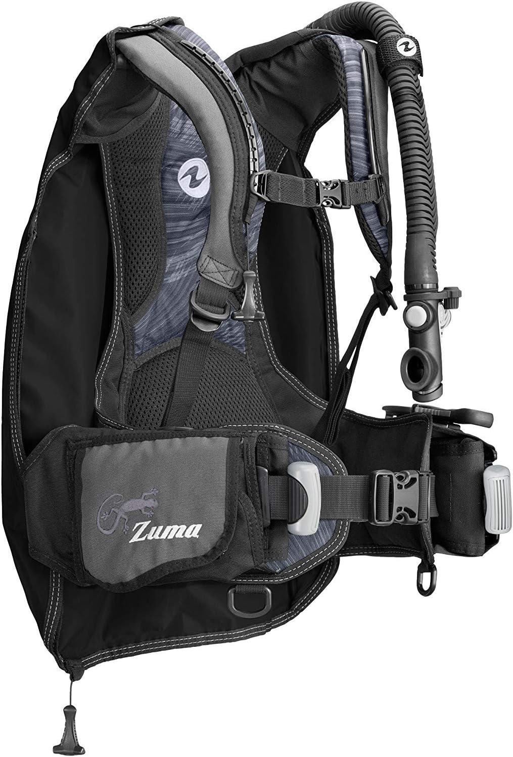 Aqua Lung 35% OFF Zuma Scuba Diving Limited time cheap sale SM Midnight MD Black BCD