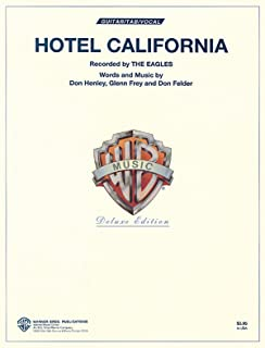 Hotel California (Authentic Guitar-Tab Editions) by Eagles (Recorder) (1-Feb-1996) Paperback