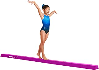 gymnastics bar beam mat combo