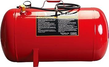 "BIG RED T88011 Torin Portable Horizontal Air Tank with 50"" Hose, 11 Gallon Capacity"