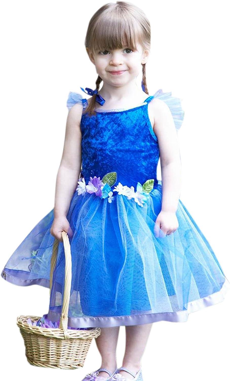 Halloweenia - Mädchen Blaumiges Elfenkleid Kostüm Karneval , Blau, Größe 92-98, 2-3 Jahre B074W71PLY Haltbarer Service    | Die Farbe ist sehr auffällig