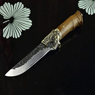 Couteaux de cuisine mis à la main couteau de chef de coupe désossage fixe pointu coupe chinois couperet cuisine outils de ...