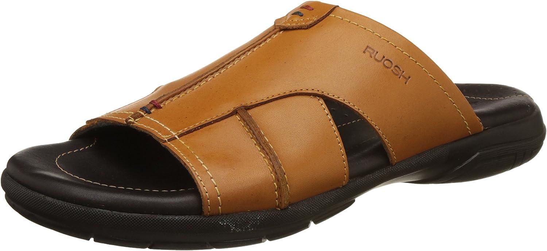 Ruosh Men's Tan Sandals-9 UK India (43 EU)(AW17 APPU 05C)