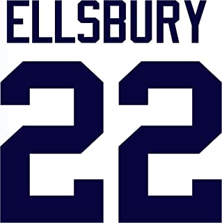 Jacoby Ellsbury New York Yankees Jersey Number Kit, Authentic Home Jersey Any Name or Number Available