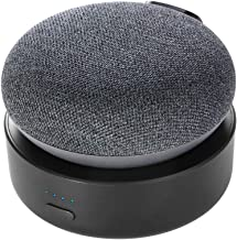 Portable Battery Base for Google Nest Mini 2, GGMM N2 10000mAh Nest Mini 2 Rechargeable Charger Stand, Black (Nest Mini 2 ... photo