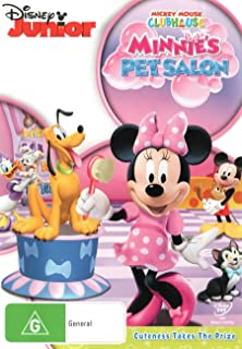 Mickey Mouse Clubhouse: Minnie's Pet Salon (DVD)