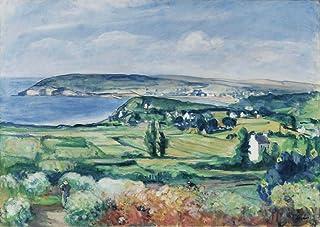 The Museum Outlet–The Plain of Crozon, Finistere, 1923, Tendue sur toile Galerie enveloppé. 40,6x 50,8cm
