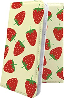 iPhone5s / iPhone5c / iPhone5 / iPhoneSE ケース 手帳型 イチゴ 果物 アイフォン アイフォーン アイフォンse アイフォン5 アイフォン5s アイフォン5c 手帳型ケース 食べ物 iPhone 5s 5c 5 se 苺