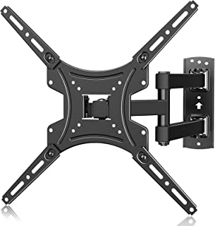 ERGO TAB Full Motion TV Wall Mount for Most 13-55 Inch LED LCD Flat Curved Screen TVs, Swivel Extension Articulating Rotat...