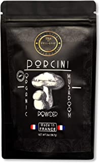 Sponsored Ad - Organic 100% Porcini Mushroom Powder Milled a 200?m Kosher Certified Made in France Vegan Vegetarian, 2oz