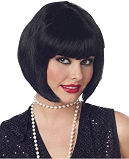 California Costume Collection - Flapper Wig (Black)